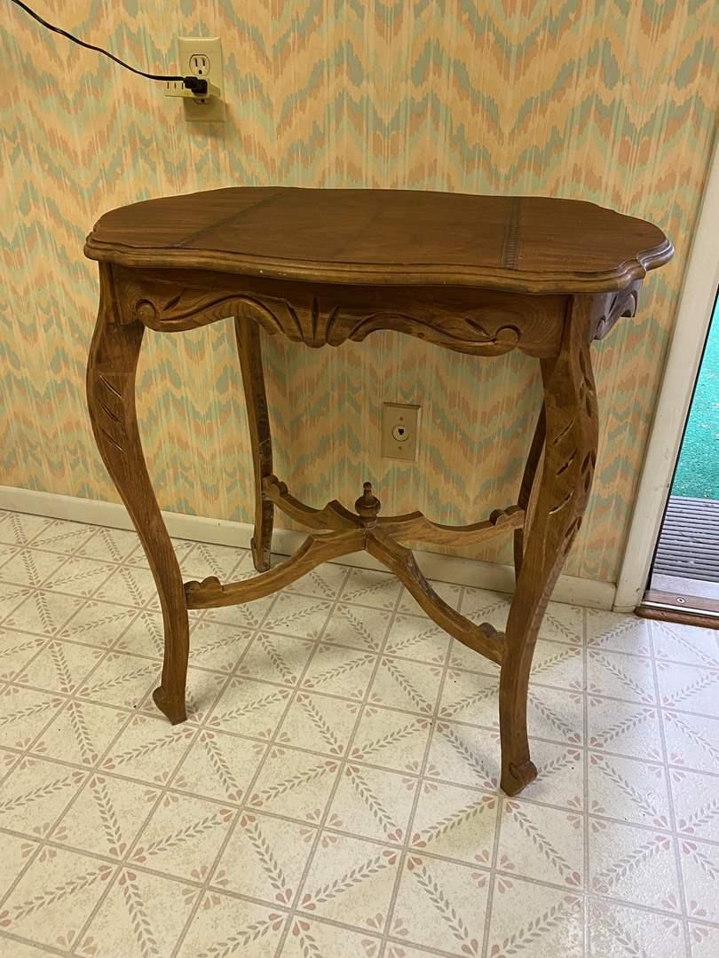 Lot # 237 - Beautiful Vintage Wood Table  (main image)