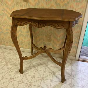 Lot # 237 - Beautiful Vintage Wood Table