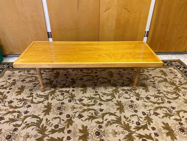 Lot # 241 - Small Wood Coffee Table (main image)