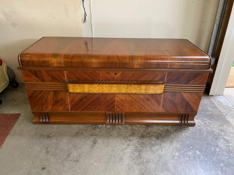 "Lot # 253 - Vintage ""Cavalier"" Cedar Chest (main image)"
