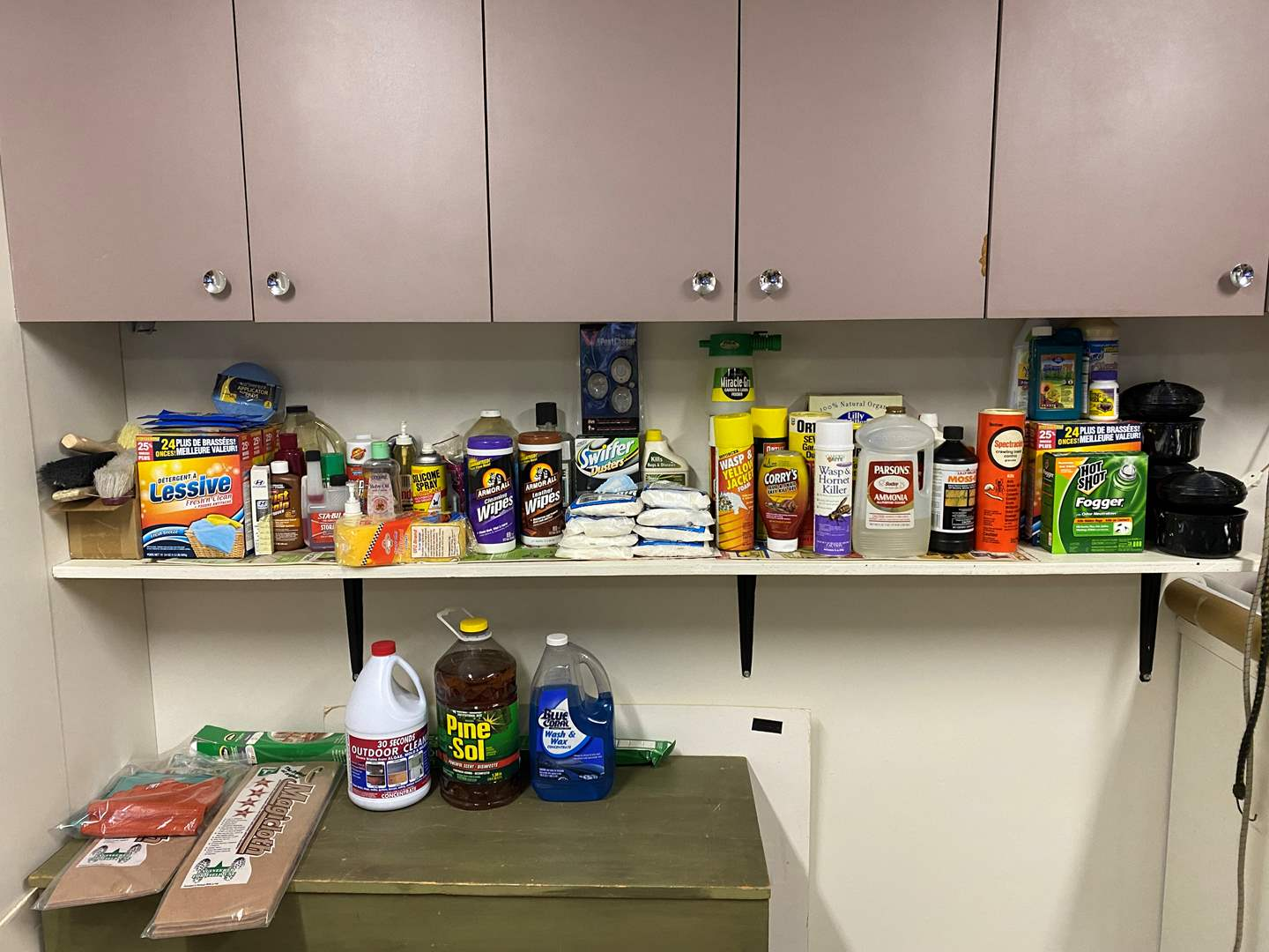 Lot # 254 - Household Chemicals, Garden Fertilizers, Cleaning Supplies & More (main image)