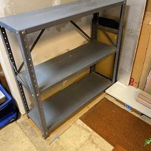 Lot # 283 - Small Metal Storage Shelf