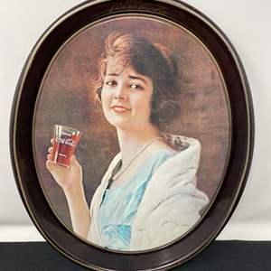 Lot # 105 - Vintage Coca-Cola Tin Tray