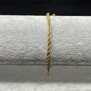 Lot # 198 - 14k Gold Bracelet - (Stamped & Tested - 7.97 grams)