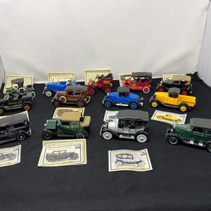 Lot # 217 - The National Motor Museum Mint Collector Cars