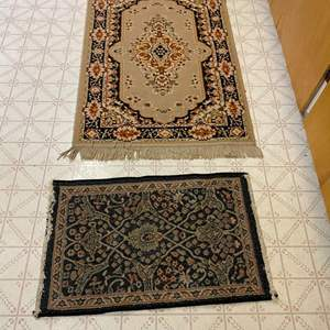 Lot # 243 - Two Small Rugs