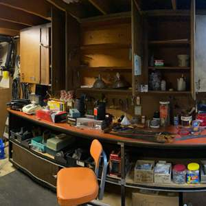 Lot # 285 - Shop Full of Tools, Hardware, Paints, & More