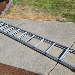 Lot # 5 Aluminum Extension Ladder