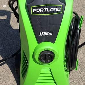 Lot # 6 Portland 1750psi Pressure Washer