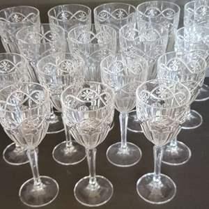Lot # 18 Crystal Glasses