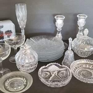 Lot # 19 Crystal & Glass Tableware