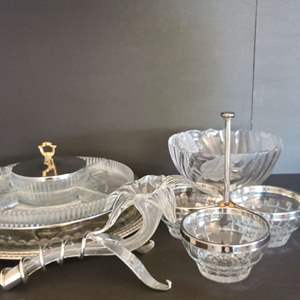 Lot # 21 Glass Tableware