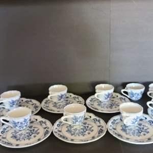 Lot # 51 Tea Cups & Plates
