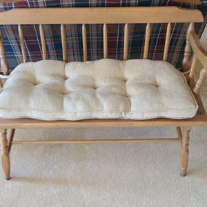 Lot # 66 Wooden Bench