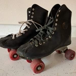 Lot # 67 Vintage Roller Derby Roller Skates ~ Size 8-9