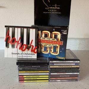 Lot # 68  Various Easy Listening CD's