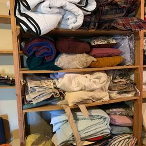 Lot # 71 Large Lot of Bed Linens #1