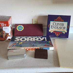 Lot # 87 Assorted Board Games