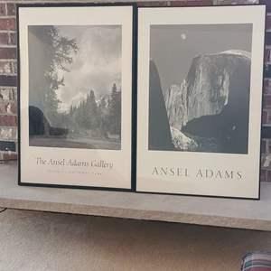 Lot # 94 Ansel Adam's Framed Posters