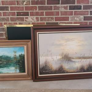Lot # 97 Oil Paintings