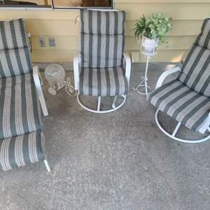 Lot # 101 Patio Furniture & Decor