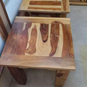 """Lot # 2 Stanley Furniture """"Kaisha"""" End Tables"""