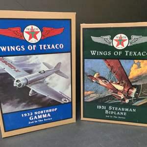 Lot # 16 Wings Of Texaco Die Cast Planes