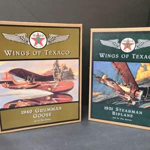 Lot # 17 Wings Of Texaco Die Cast Planes