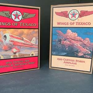 Lot # 18 Wings Of Texaco Die Cast Planes