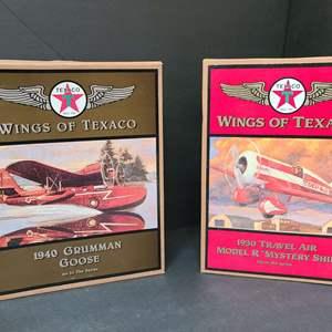 Lot # 19 Wings Of Texaco Die Cast Planes