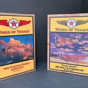 Lot # 20 Wings Of Texaco Die Cast Planes