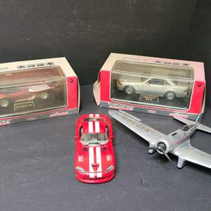 Lot # 22 Assorted Toy Cars & Die Cast Plane