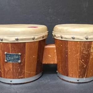 Lot # 24 Zim Gar Bongo Drums