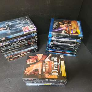 Lot # 26 Assorted Blu Ray's & DVD's