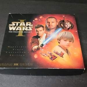 Lot # 32 Vintage Star Wars Collectors VHS