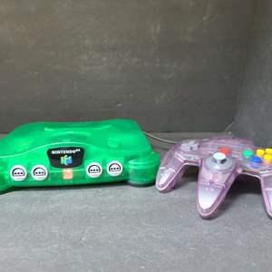 Lot # 36 Nintendo 64 Game Console