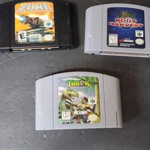 Lot # 38 Nintendo 64 Games