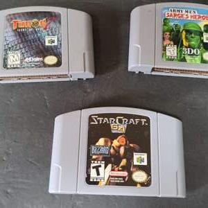 Lot # 39 Nintendo 64 Games