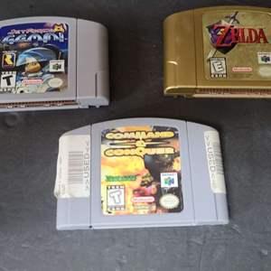 Lot # 41 Nintendo 64 Games
