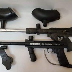 Lot # 45 Paintball Guns & More
