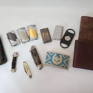 Lot # 49 Men's Wallets & More