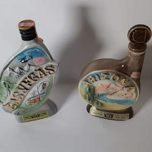 Lot # 70 Collectible Jim Beam Decanters