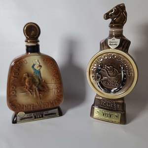 Lot # 72 Collectible Jim Beam Decanters