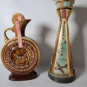 Lot # 74 Collectible Jim Beam Decanters