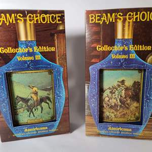 Lot # 75 Collectible Jim Beam Decanters