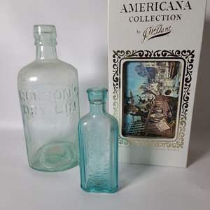 Lot # 77 Collectible Jim Beam Decanter & More