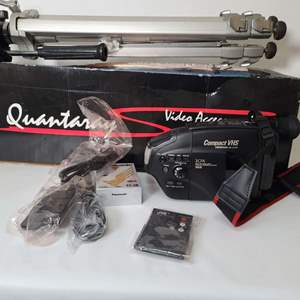 Lot # 98 Video Camera & Accessories