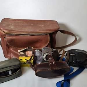 Lot # 99 Vintage Camera Equipment