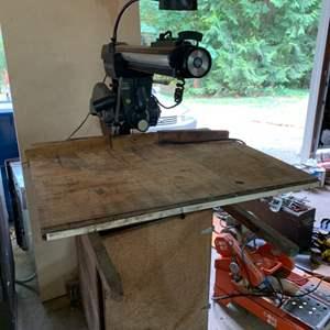 """Lot # 101 Craftsman 10"""" Radial Arm Saw"""