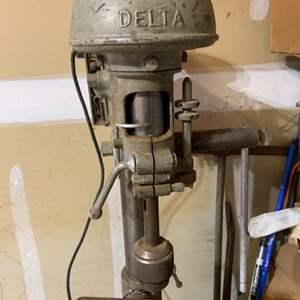 Lot # 108 Delta Belt Driven Drill Press